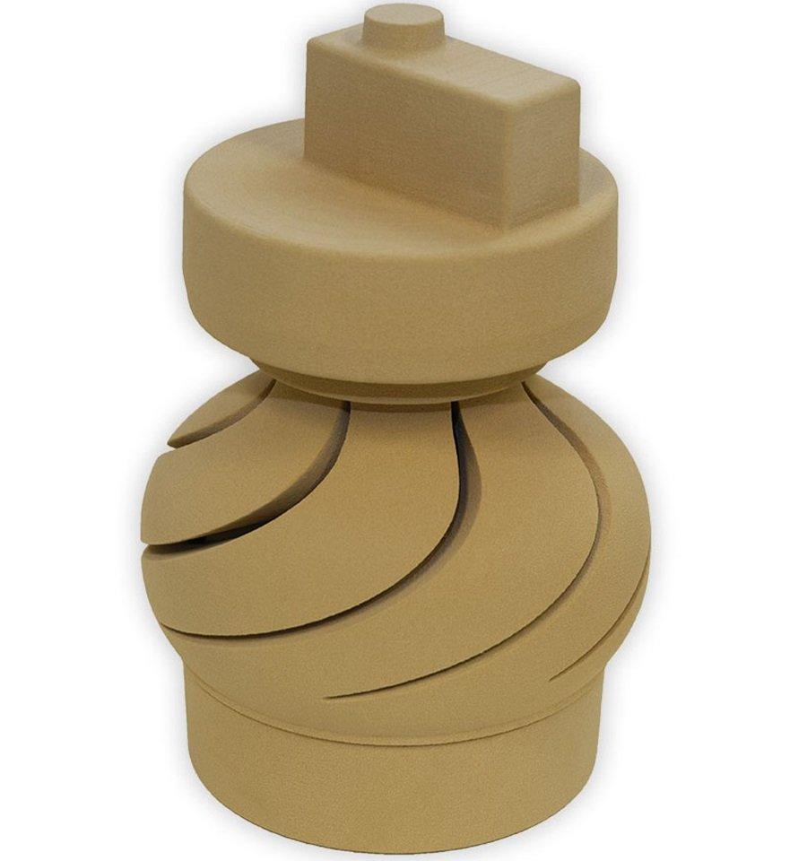 Anima prototipale in sabbia da stampa 3D - Girante idraulica