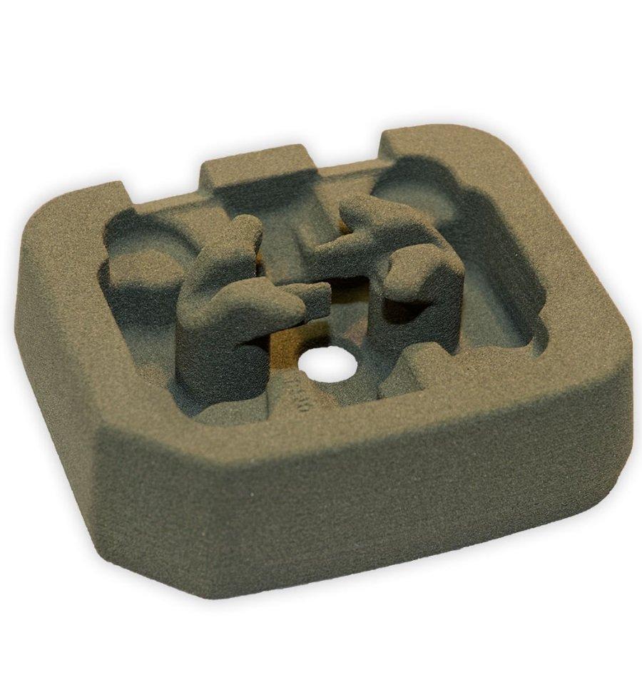 Anima prototipale in sabbia da stampa 3D - Testa compressore