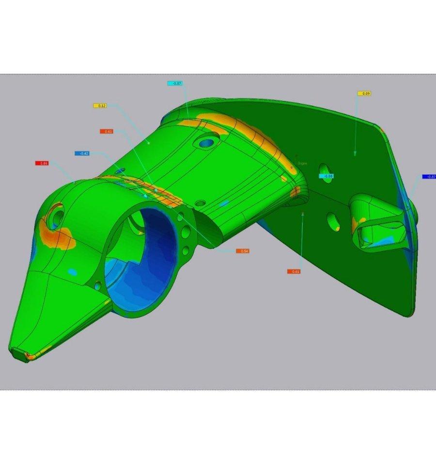Controllo 3D Analisi di deviazione