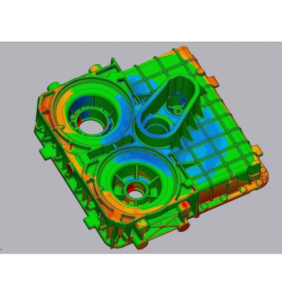 Controllo 3D fusioni industriali
