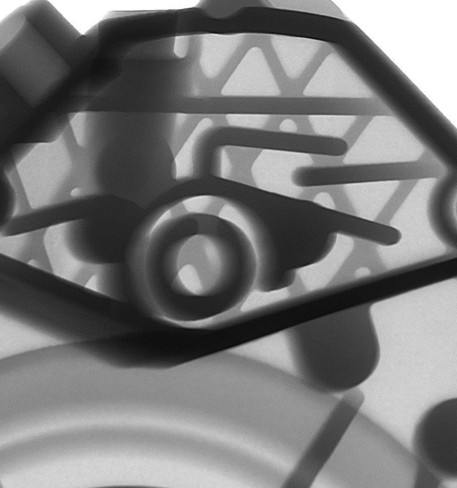 Controllo RX fusioni alluminio