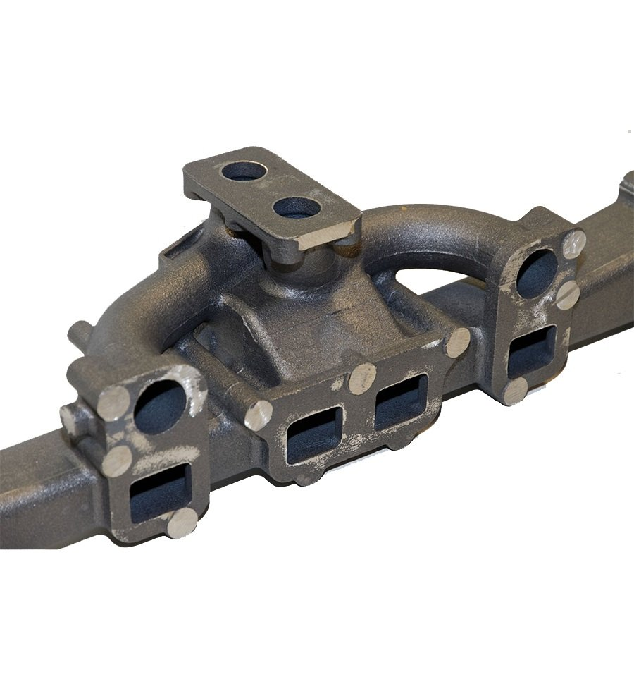 Prototipo da quick sand casting - Collettore in ghisa sferoidale