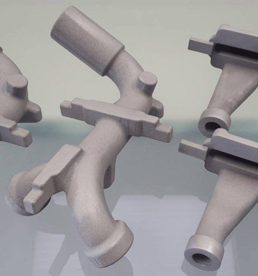 Prototipo DMLS condotto in alluminio per automotive