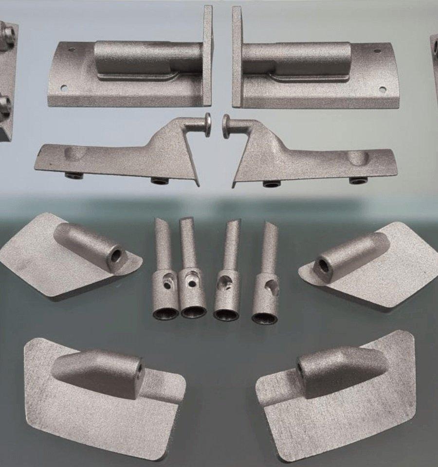 Prototipo da sinterizzazione metallica DMLS realizzato da Prototypes