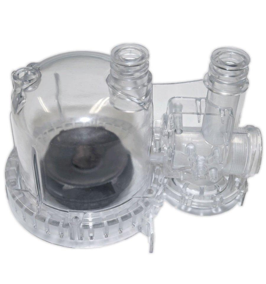 Prototipo da stampo al silicone - Corpo trasparente liquido