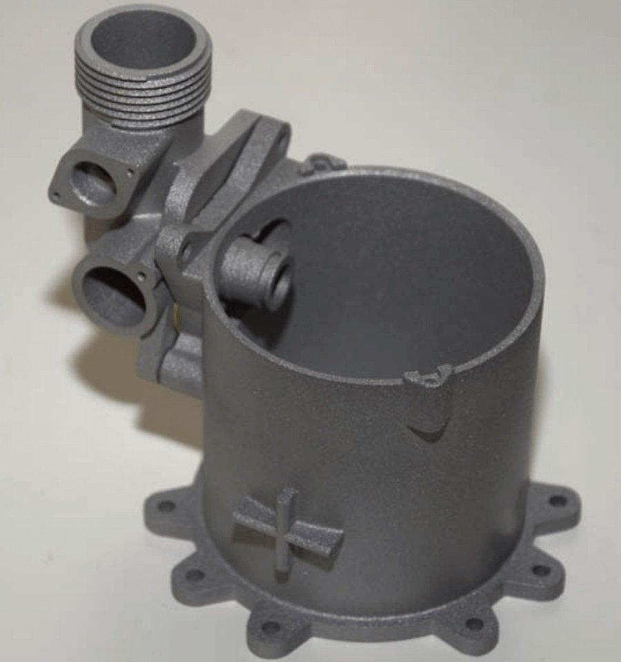 Prototipo sinterizzazione metallica DMLS