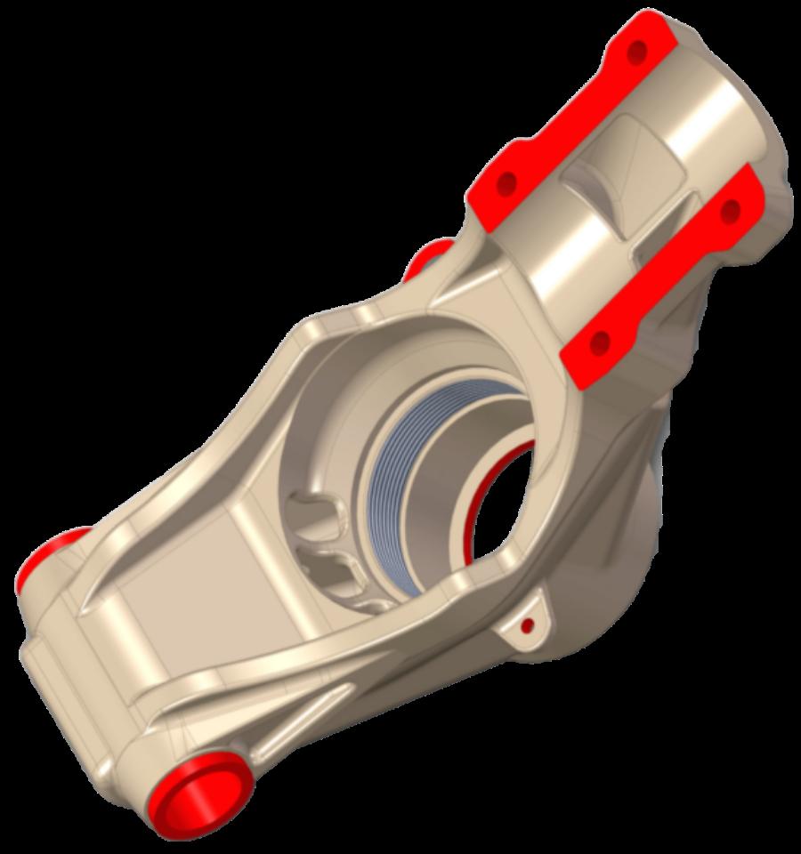 Scansione 3D - Mozzo Lancia Stratos - Cattura e Reverse