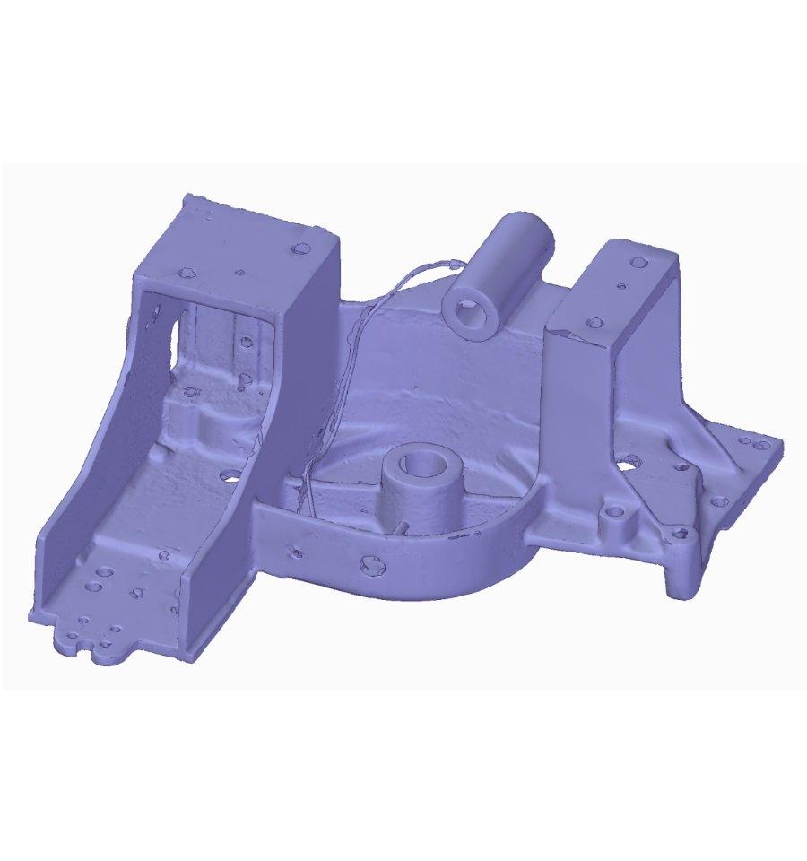 Scansione 3D particolari meccanici
