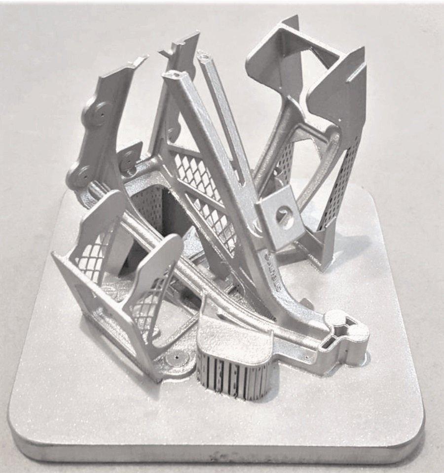 Stampa 3D metallica DMLS - Tavola sinterizzazione