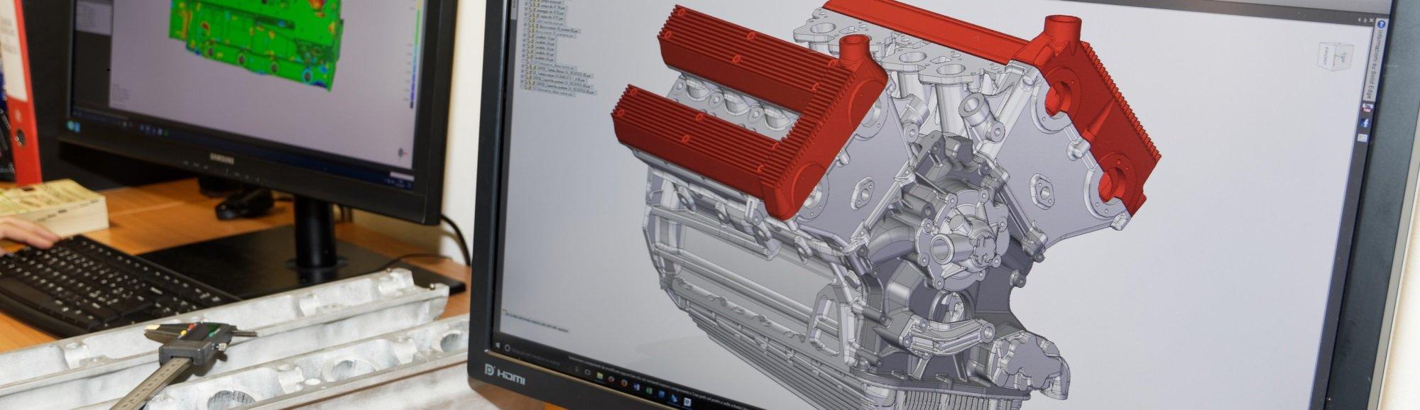 Ufficio tecnico progettazione 3D